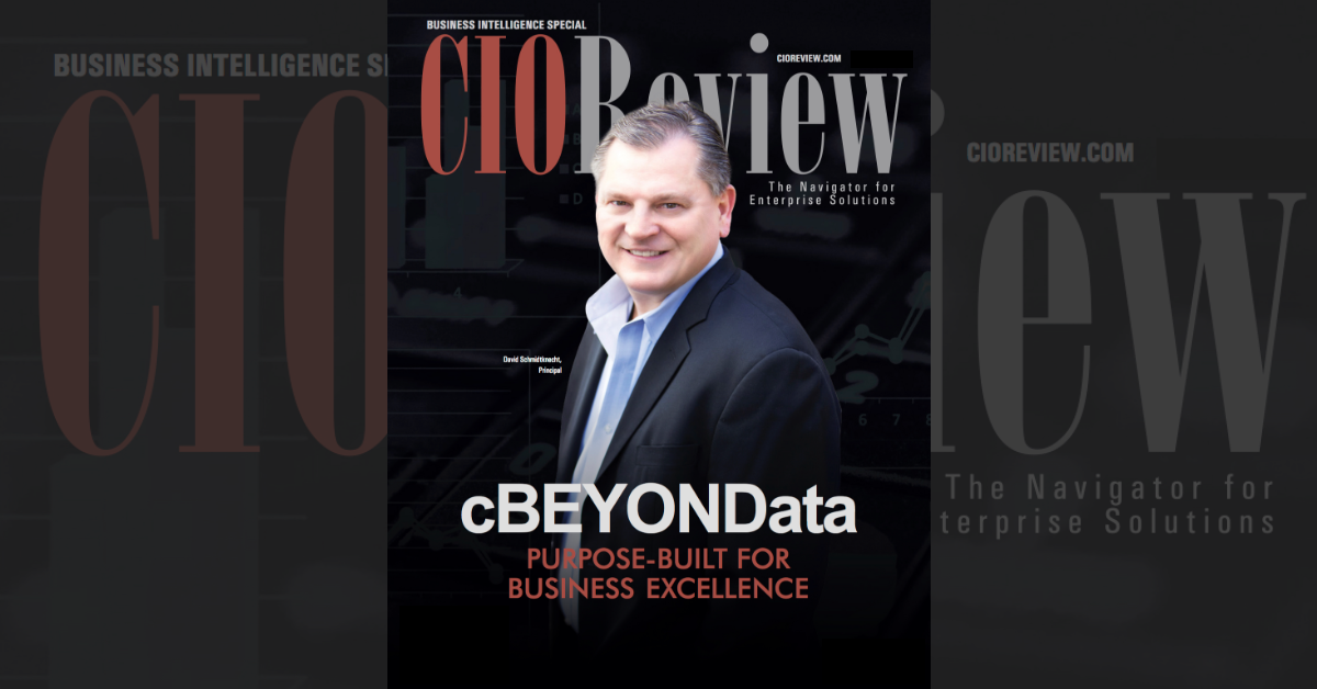 cBEYONData on CIO Review's Business Intelligence Special Cover!