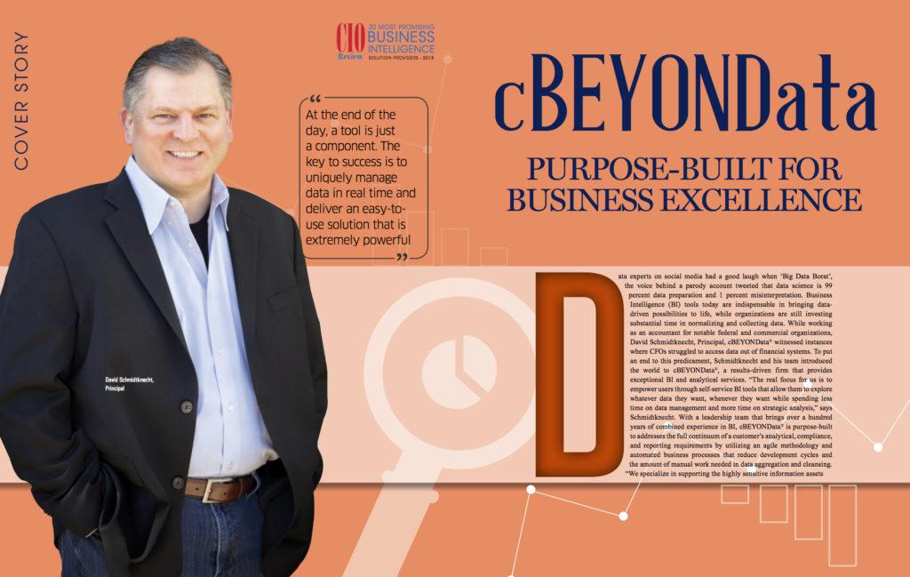 cBEYONData on CIO Review's Business Intelligence Special Cover - cBEYONData Blog